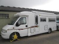 2006 AUTOCRUISE STARDREAM 2 BERTH LOW MILEAGE U-SHAPED LOUNGE MOTORHOME FOR SALE