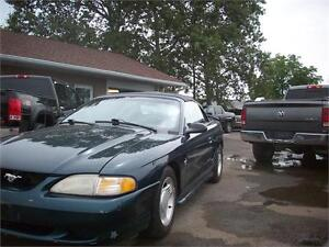 1995 Ford Mustang v8 5.0 swap newer convertible top.as-is DEAL