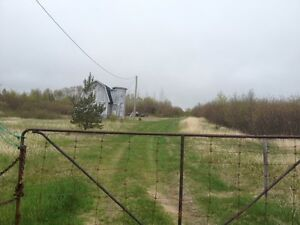 Partially developed residence on over 5 acres of land