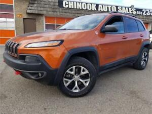 2014 Jeep Cherokee Trailhawk 1 Year warranty