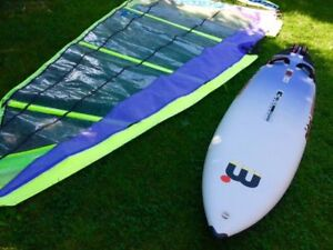 Mistral Energy Windsurfer plus Sail and Fin!