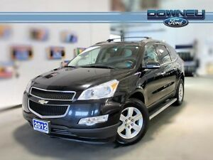 2012 Chevrolet Traverse 2LT, AWD LEATHER, PWR SEAT, HEATED SEATS