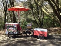 Bespoke Electric Stop Me & Buy One Ice Cream Bike