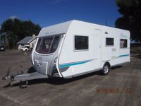 2006 GIEST DL520 5 BERTH CARAVAN WITH MOTOR MOVER AND FULL AWNING ANDERSON CARAVAN SALES
