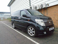 NISSAN ELGRAND HIGH WAY STAR TOP EDITION 3.6 5dr FRESH IMPORT / UK READY TO GO
