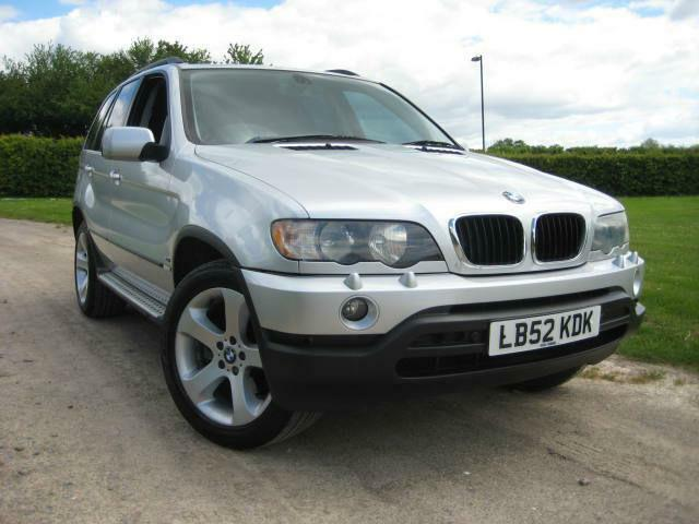 "BMW X5 3.0i auto. ""NOW SOLD"""