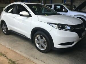 2015 Honda HR-V MY15 VTi-S Taffeta White 1 Speed Constant Variable Hatchback