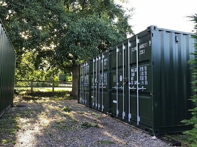 New storage container to rent 20 x 8 feet | in Farnham ...
