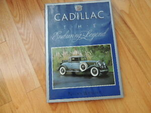 Vintage Cadillac hard cover book
