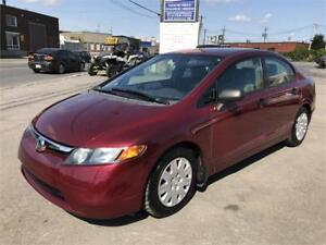 2008 Honda Civic DX AUTOMATIQUE A/C GAR 1AN FINANCEMENT DISPO