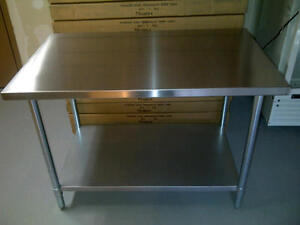 STAINLESS STEEL WORKTABLES CLEARANCE SALE!!! Calgary Alberta Preview