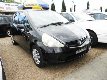 2003 Honda Jazz GD VTi Black 7 Speed Constant Variable Hatchback Colyton Penrith Area Preview