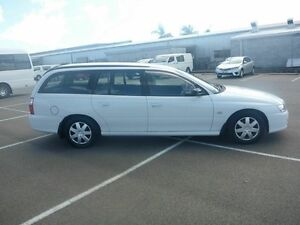 2006 Holden Commodore VZ MY06 Executive White 4 Speed Automatic Wagon Garbutt Townsville City Preview