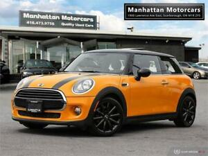 2016 MINI COOPER 3DR AUTO |PANOROOF|BLUETOOTH|WARRANTY|65KM