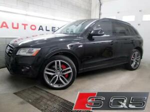 2016 Audi SQ5 3.0T Technik BLACK OPTICS CUIR ROUGE *125$/SEM*