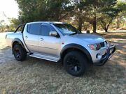 2007 Mitsubishi Triton ML GLS (4x4) Silver 4 Speed Automatic 4x4 Double Cab Utility Applethorpe Southern Downs Preview