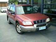 2001 Subaru Forester 79V MY01 Limited AWD Red 5 Speed Manual Wagon Invermay Launceston Area Preview