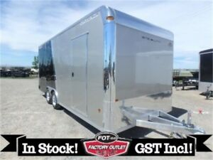 8 X 20 Stealth Supreme Car Hauler by Alcom All-Aluminum