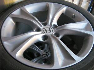 245/45/18 tires and honda rims