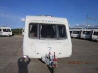 2011 STERLING EUROPA 550 4 BERTH FIXED BED END WASHROOM CARAVAN ANDERSON CARAVAN SALES