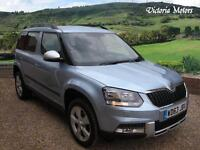 2014 SKODA YETI OUTDOOR 2.0 TDI CR SE