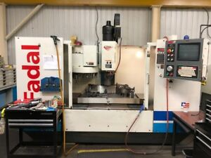 2002 Fadal VMC 4020HT Vertical Machining Center Great Condition