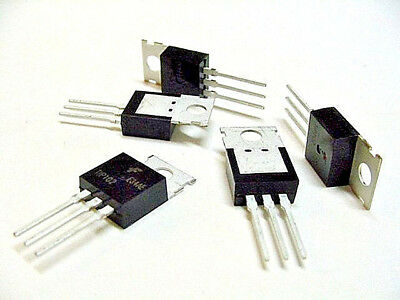 5pc Tip102 Npn 100v 8a Darlington Transistor To-220