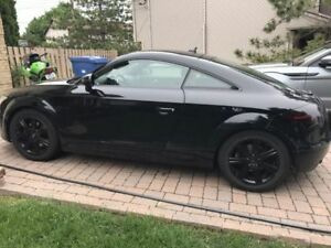 AUDI TT 2008 BLACK FWD RED INTERIOR 177,000km NAVI N GPS