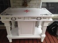 Bar table - very sturdy -pine, solid wood