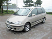 2004 (54) Ford Galaxy Ghia TDDi, 1896cc Diesel, 6 Speed Manual, 7 SEATS