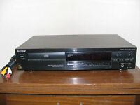 Lecteur de disques compacts Sony compact disc player
