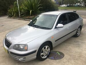 2006 Hyundai Elantra XD MY05 FX Silver 5 Speed Manual Hatchback Macquarie Hills Lake Macquarie Area Preview