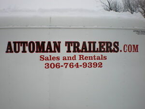 Automan Trailers has Trailers for Sale or Rent