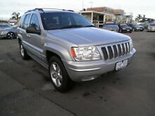 2003 Jeep Grand Cherokee WG MY2003 Overland Silver 5 Speed Automatic Wagon Heatherton Kingston Area Preview