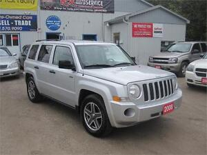 2008 Jeep Patriot Sport| NO ACCIDENTS| NO RUST| 4X4| ALLOY RIMS