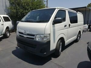 2010 Toyota HiAce TRH201R MY11 Upgrade LWB White 5 Speed Manual Van Canley Vale Fairfield Area Preview