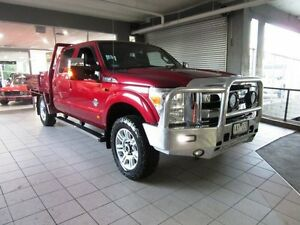 2013 Ford F250 Ruby Red Utility Thornleigh Hornsby Area Preview