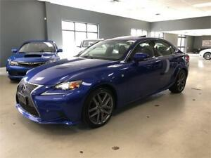 2015 Lexus IS 250*F-SPORT SERIES 3*NAV*BACK-UP CAM*MARK LEVINSON