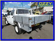 2002 Toyota Hilux KZN165R (4x4) White 5 Speed Manual Dual Cab Chassis Penrith Penrith Area Preview