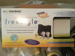 Basically New Medela BreastPump Most parts sealed Top Quality