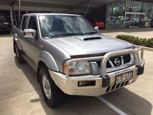 2012 Nissan Navara D22 S5 ST-R Silver 5 Speed Manual Utility Yamanto Ipswich City Preview