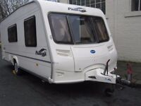 Bailey Pageant Moselle Four Berth Touring Caravan