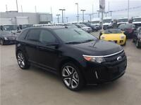 2013 FORD EDGE SPORT AWD black low km's