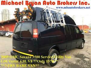 2009 GMC SAVANA 3500 HI-ROOF SERVICE VAN / UTILITY VAN *157K*