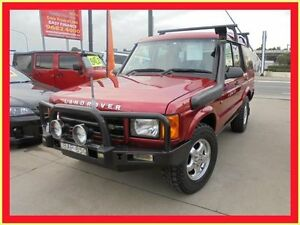 1999 Land Rover Discovery II Red 4 Speed Automatic Wagon Holroyd Parramatta Area Preview