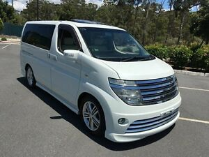 2003 Nissan Elgrand Rider White 5 Speed Automatic Wagon Biggera Waters Gold Coast City Preview