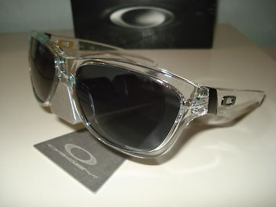 New Oakley Jupiter Sunglasses Clear w/ Grey Men's Dispatch Pictures!! Dispatch for sale  Shipping to India