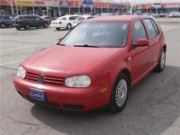 2003 VOLKSWAGEN GOLF,CERTIFY,E-TEST & 3 YEARS P-T- W AVAILABLE Mississauga / Peel Region Toronto (GTA) Preview