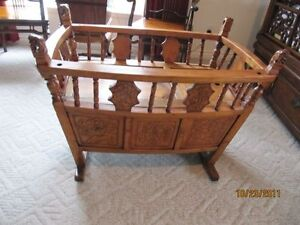 Antique cradle from Shanghai
