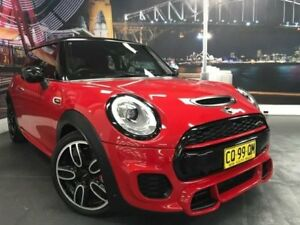 2015 Mini Hatch F56 John Cooper Works Red Manual Hatchback Prospect Blacktown Area Preview